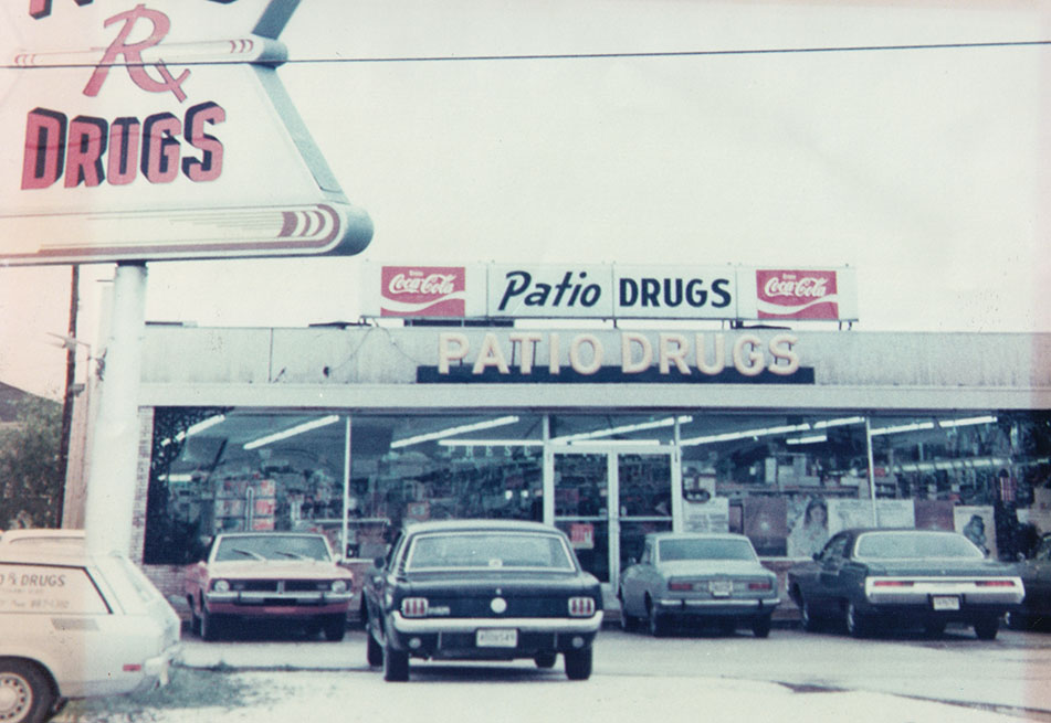 Patio Drugs circa 1965