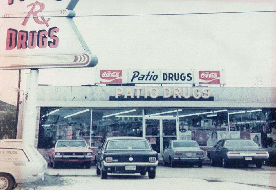 Patio Drugs circa 1965
